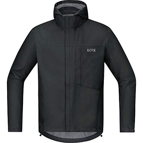 GORE Wear C3 Giacca da uomo con cappuccio GORE-TEX, L, Nero