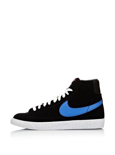 Nike Hightop Sneaker Blazer Mid Vintage Schwarz/Blau EU 37.5