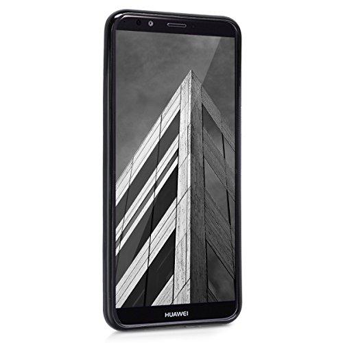 kwmobile Huawei Y7 (2018)/Y7 Prime (2018) Hülle - Handyhülle für Huawei Y7 (2018)/Y7 Prime (2018) - Handy Case in Schwarz matt - 2