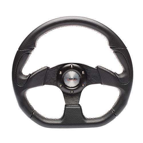 Simoni Racing X2330PUN/P volante deportivo, negro