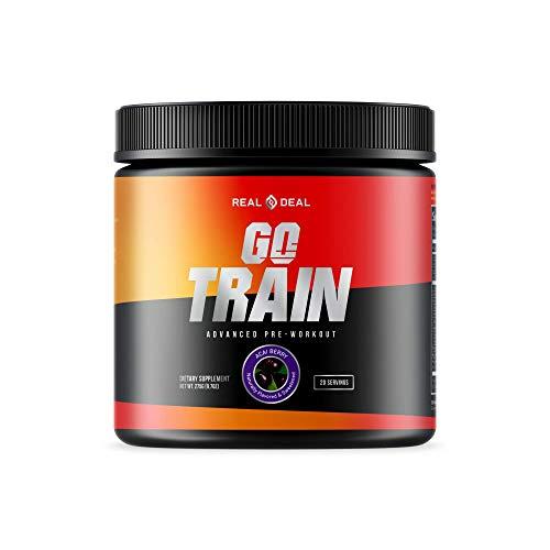 GO Train Pre Workout for Men & …