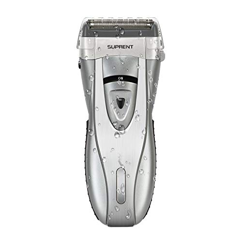 Electric Razor for Men MYNER Foil ShaverElectric Razor Wet/Dry with Lithium Ion Battery Floating 3Blades SystemSafe Travel LockCharge for 5 Minutes and Work for 70 Minutes