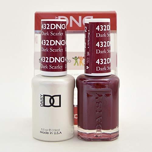 DND Duo - Matching Gel and Polish, 432 Dark Scarlet