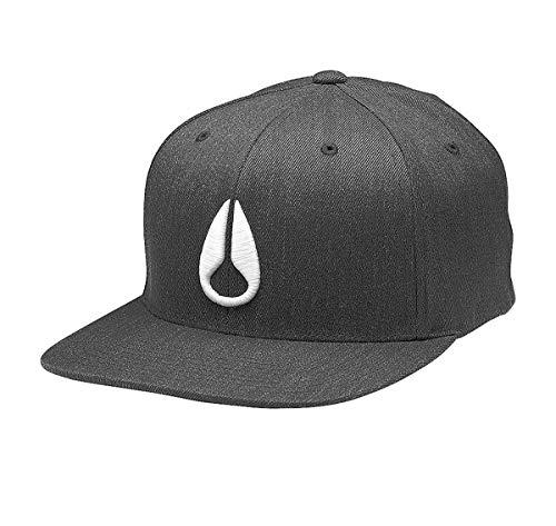 NIXON - Gorra de béisbol - para hombre Gris Negro Heather /...