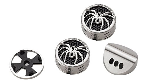 Soundstream TWS.4 1-Inch Aluminum Tantalum Dome Tweeter, Set of 2