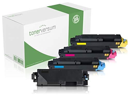 Set van 4 toners, compatibel met Kyocera, TK-5270, zwart cyaan, magenta, geel, inktpatronen voor Ecosys, M6230cidn, M6630cidn, P6230cdn, laserprinter, multipack
