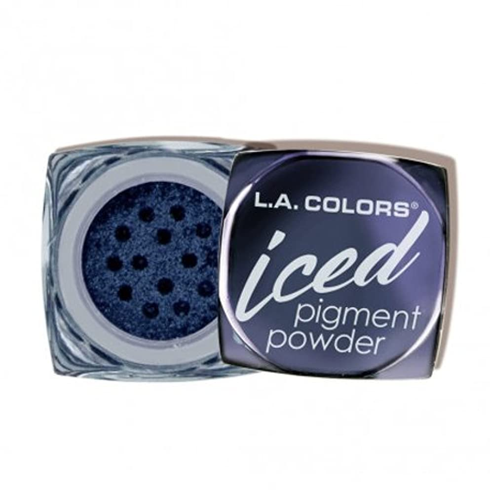 正義スタックブラウズ(3 Pack) L.A. COLORS Iced Pigment Powder - Gleam (並行輸入品)