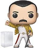 Funko Rocks: Queen - Freddie Mercury Wembley 1986 Pop! Vinyl Figure (Includes Compatible Pop Box Protector Case)