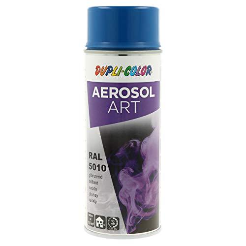 DUPLI-COLOR 722561 Aerosol Art, RAL 5010 enzianblau Glänzend