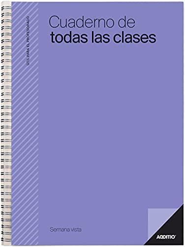 Additio P222 Cuaderno de Todas las Clases SV Evaluación + Planificación Semanal Lila