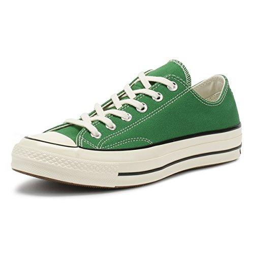 Converse Unisex-Erwachsene Taylor Chuck 70 Ox Sneakers, Mehrfarbig (Green/Black/Egret 302), 44.5 EU