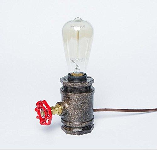 TOYM UK Style américain chambre rétro chambre lampe de chevet lampe bar lampe de table lampe de table créative
