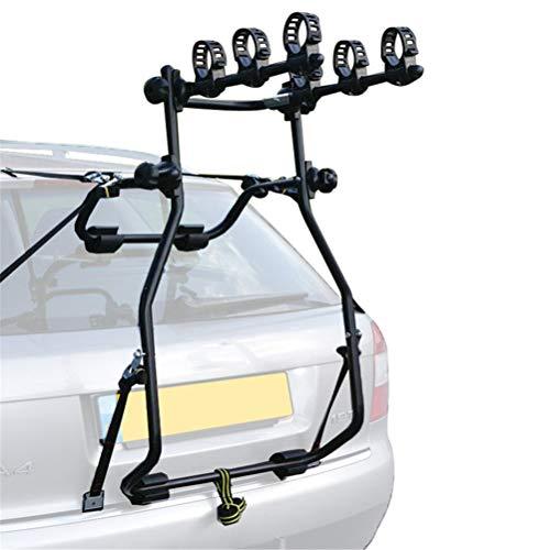 N \ A Portabicicletas para Coche, portaequipajes o Enganche, 3 Opciones de portabicicletas, diseñado para la mayoría de los Coches, sedanes, hatchbacks, minivans y SUV.