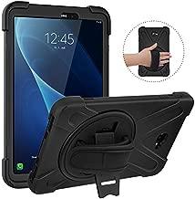 MoKo Case Fit Samsung Galaxy Tab A 10.1, [Heavy Duty] Shockproof Full-Body Hybrid Rugged 360 Degree Rotating Stand Cover for Galaxy Tab A 10.1