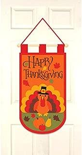 amscan Thanksgiving Felt Door Banner | Party Accessory