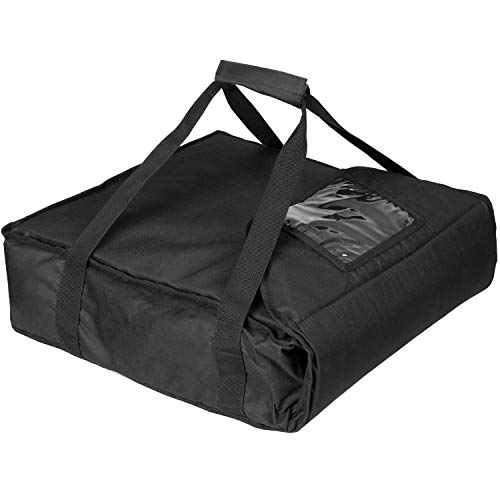 Commercial Quality Pizza Delivery Bag - Thick Insulation - Store 3 Pizzas Warm for Hours