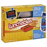 OSCAR MAYER LUNCHABLES TURKEY & AMERICAN CHEESE PACK OF 3