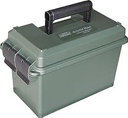 cheap MTM Case-Gard 50 Cal Ammo Box, Forest Green