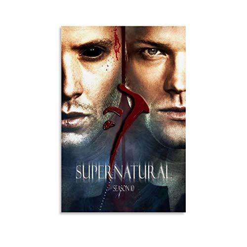 Ghychk Supernatural TV-Serie Dean & Sam Winchester Poster, Kunst, Gemälde auf Leinwand, Wandkunst, modern, für Zuhause...