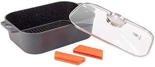 2021 Laguiole sale Nonstick Braiser w/ outlet online sale removable silicone handles online sale