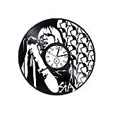 Kovides Sia Wanduhr aus Vinyl, Sia Clock Sia The Greatest Vinyl Clock This is Acting by Sia Wanduhr Vintage Geschenk für Frau Sia Sia Vinyl Wanduhr Sia Wall Art Pop Music