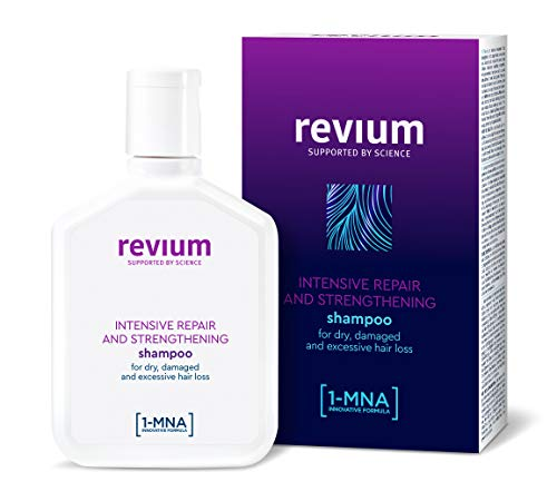REVIUM DEEP REPAIR INTENSIVE ANTI- HAIR LOSS SHAMPOO FOR DRY AND DAMAGE HAIR WITH 1- MNA MOLECULE,  FOR WEAK EXCESSIVELY FALLING OUT HAIR 200 ml