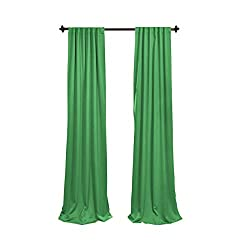 Emerald curtains