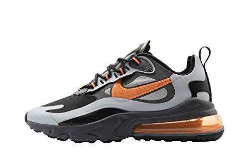 Nike Air Max 270 React WTR Sneakers Grigio Nero Arancio CD2049-006 (40 - Grigio)