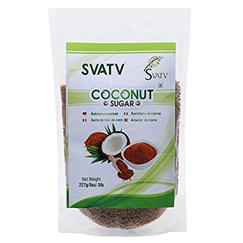 SVATV - Azúcar de coco :: 227g :: Granulado sin refinar