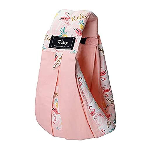 Cuby Vrbabies 新生児 ベビースリング Pink stripes