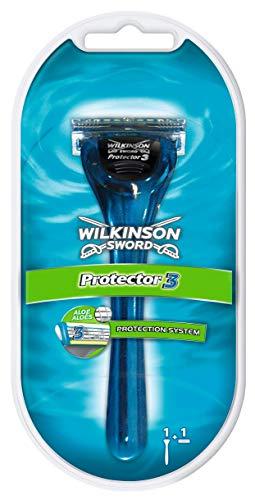 Wilkinson Sword Protector 3 herenscheerapparaat met 1 scheermes, 1 st.