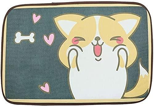 VTAMIN Pet Kühlkissenkatze Katze EIS-EIS-Pad, Haustier-Matte, Sommer kalt, um Wärme, Hundekühlkisseneis Eisnest, Hundekühlung Artefakt, Wasserkissen Sleeping Pad (Farbe: 7, Größe: 60 * 40 cm)