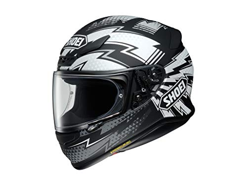 Helm Shoei NXR Variable TC-1 schwarz weiß matt, XXL