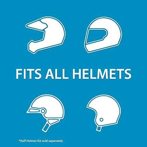 Black Helmet with Intercom