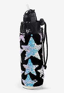 Justice Star Velvet & Flip Sequin Sleeved Water Bottle