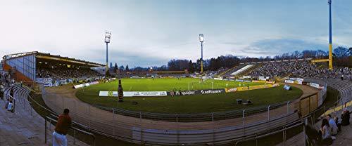 Darmstadt Stadion Panorama – Poster 120 x 50 cm – hochwertiger FineArtPrint