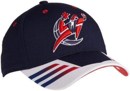 NBA Ty31Z - Cappello Washington Wizards Authentic Team Flex, Uomo, Infradito colorati estivi, con finte perline, Small-Medium