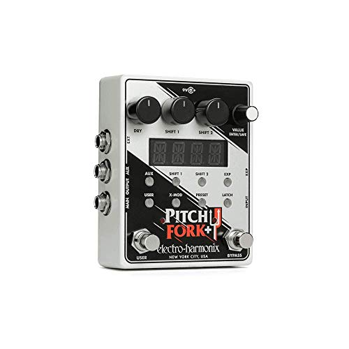 Electro Harmonix Pitch Fork + Dual Polyphonic Pitch Shifter · Guitar Effect