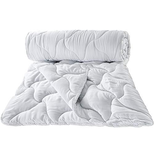 Bettdecke 135x200 cm Ganzjahresdecke 2. Wahl - warme Steppdecke Schlafdecke für Allergiker hypoallergen