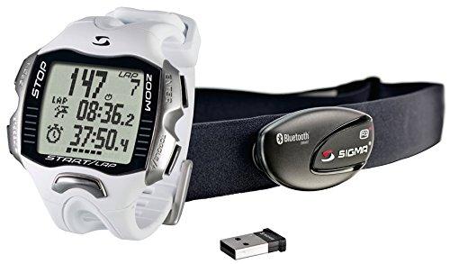 Sigma Sport RC MOVE BLANCO, Smartwatch deportivo, Incluye banda R1 BLUE COMFORTEX+, color blanco, talla única