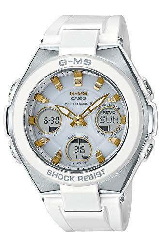 [カシオ] 腕時計 ベビージー G-MS 電波ソーラー MSG-W100-7A2JF レディース ホワイト