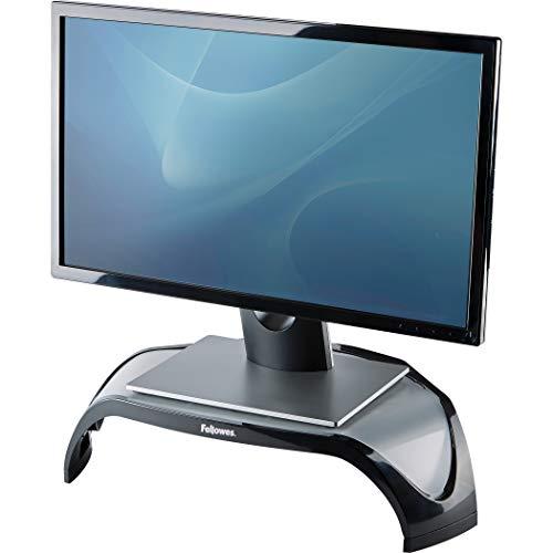 Fellowes Smart Suites - Supporto monitor regolabile, Per schermi piatti fino a 21 pollici o 10 kg, Nero