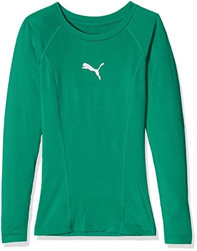 PUMA Kinder Liga Baselayer Tee LS Jr Shirt, grün (Pepper Green), 152