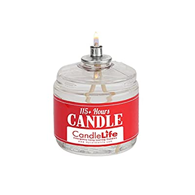 CandleLife Emergency Candles 115 Hours, Clear Mist by CandleLife
