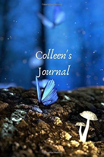 Colleen's Journal: Personalized Lined Journal for Colleen Diary Notebook 100 Pages, 6