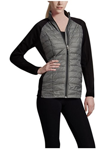 32 DEGREES Weatherproof¨ Ladies' Quilt Fill Softshell (Small, Gray)