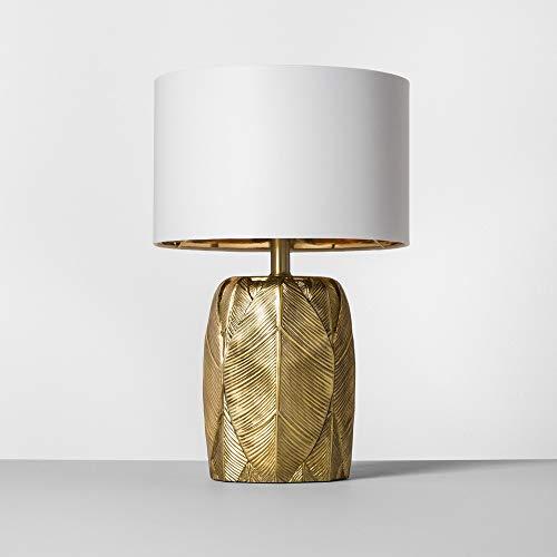 Leaf Table Lamp Gold Includes Energy Efficient Light Bulb - Opalhouse™