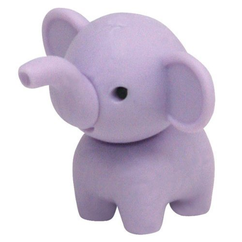 IWAKO GUMMY MIX AND MATCH COLLECTIBLE ERASERZ - PEANUT THE ELEPHANT ZOO ANIMAL