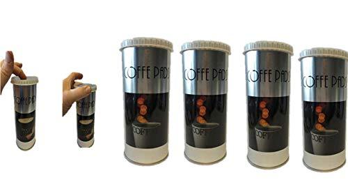 Senseo James Premium Paddose für 18 Kaffeepads, Dose, Pad, 4er Pack
