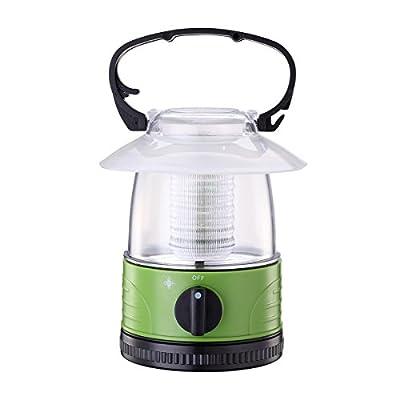 ZZD Mini LED Camping Lantern Lights Kids Small Lightweight Flashlight for Hiking, Emergencies, Storms(4 AA Battery Powered)